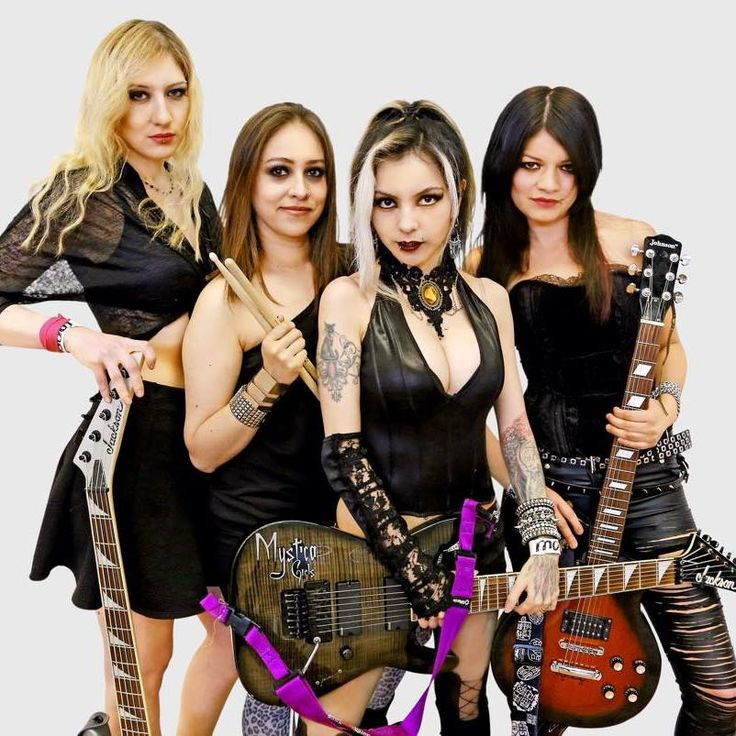 mystica girls mexican heavy metal band cynthya blackcat in 2019 heavy metal bands metal. Black Bedroom Furniture Sets. Home Design Ideas