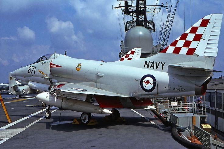 A-4G. VF-805. Onboard HMAS Melbourne.