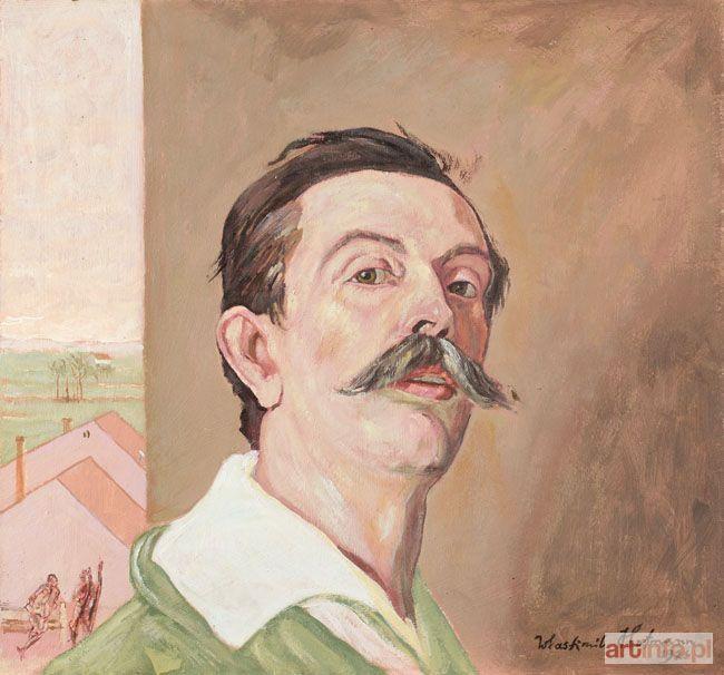 Wlastimil HOFMAN ● AUTOPORTRET, 1921 ●
