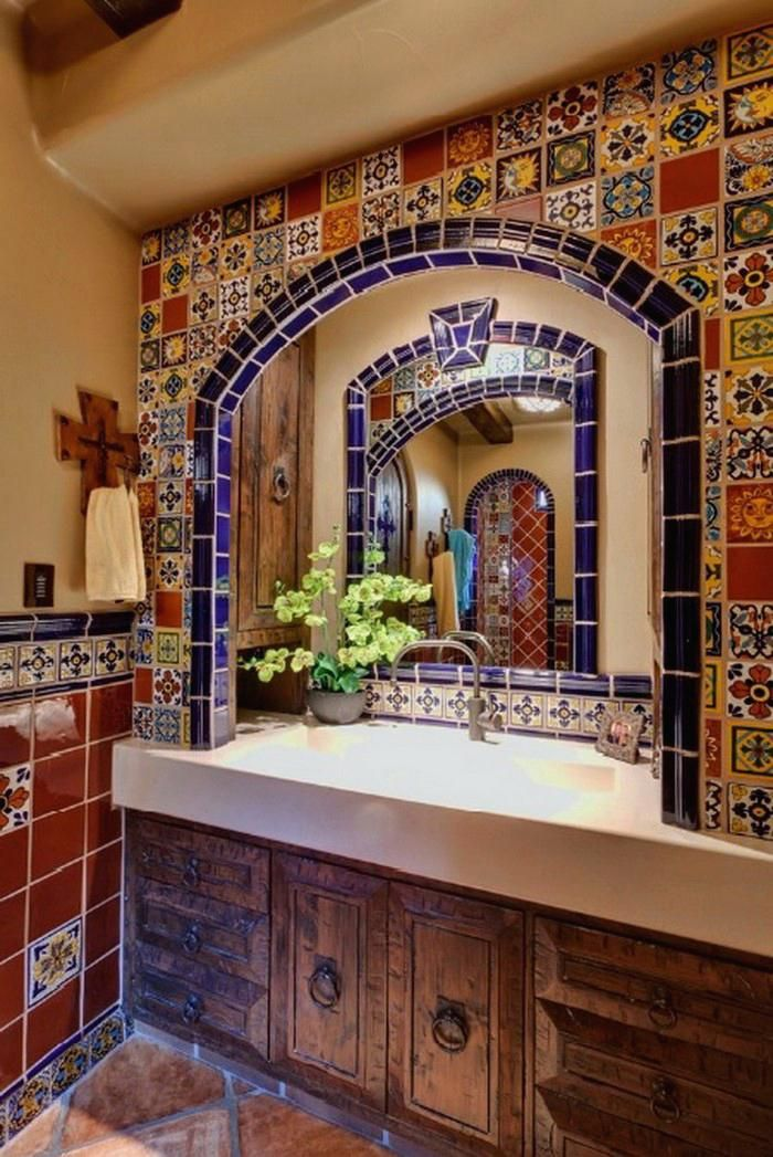 Image Result For Bathroom Ideas Spanish Style Spanish Style Bathrooms Spanish Style Homes Hacienda Style Homes