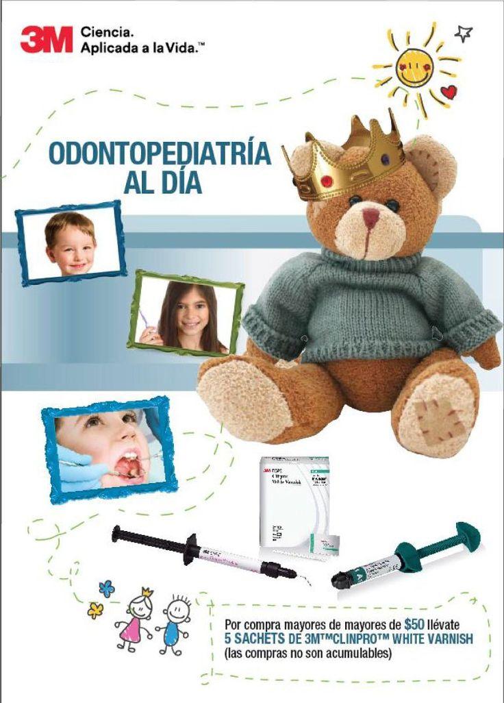 Odontopediatría al día Fecha: 1 de agosto 2017 Hora: 8:00 am a 10:00 pm Lugar 3M, Brasil n39-91 y Granda Centeno