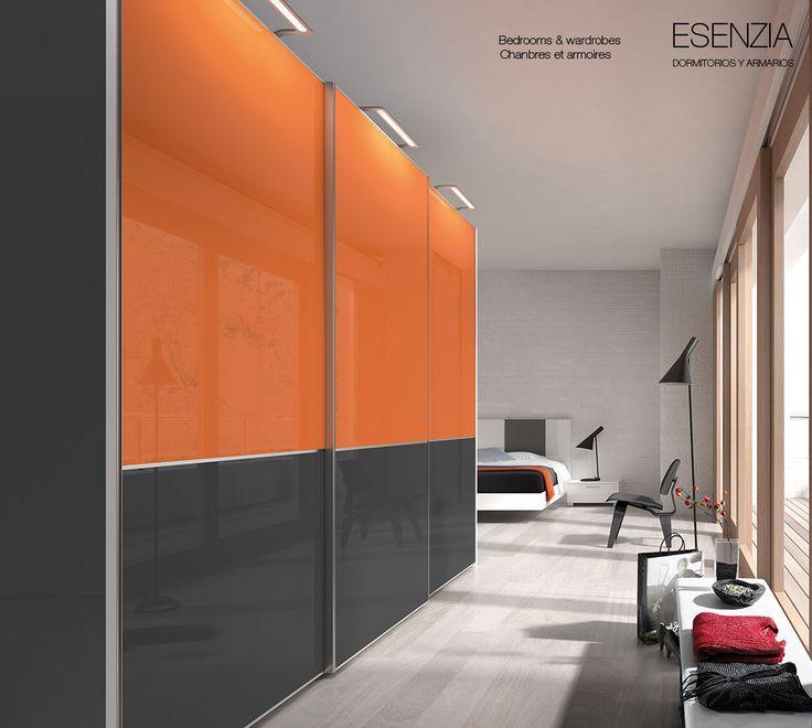 237 best images about armarios puertas correderas on for Armario dormitorio adulto puerta corredera