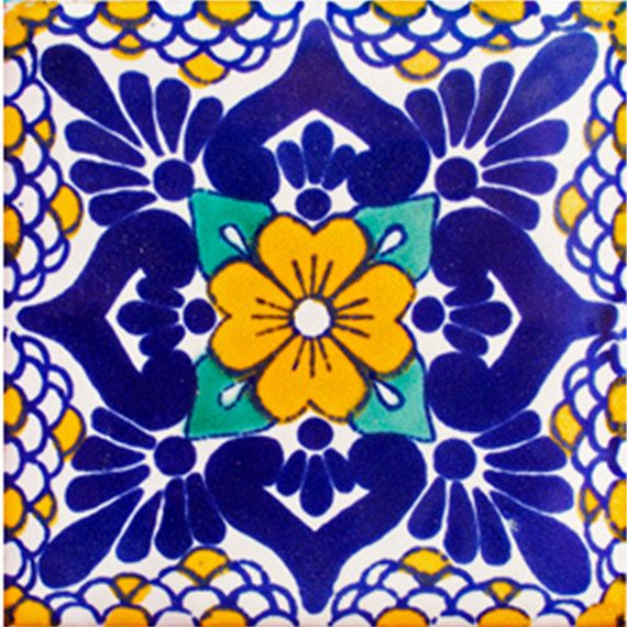 He encontrado este interesante anuncio de Etsy en https://www.etsy.com/es/listing/162917566/mexican-tile-handmade-talavera-tile