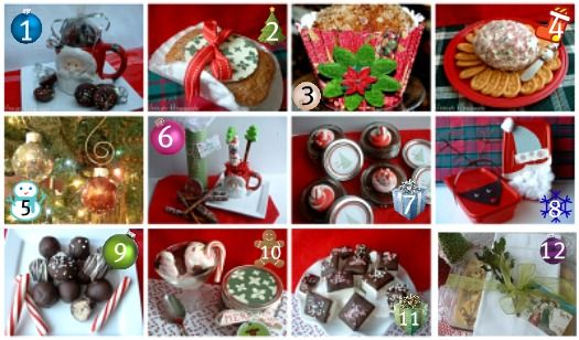 slew of homemade gift ideas