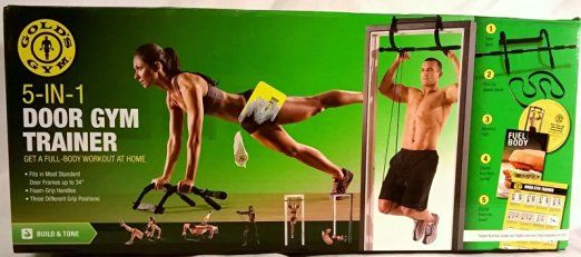 Gold's Gym 5-in-1 Body Building System http://amzn.to/2brf200 $35.00