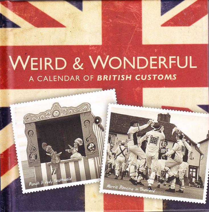 """Weird & Wonderful - A Calendar of British Customs"" av Susie Foster"
