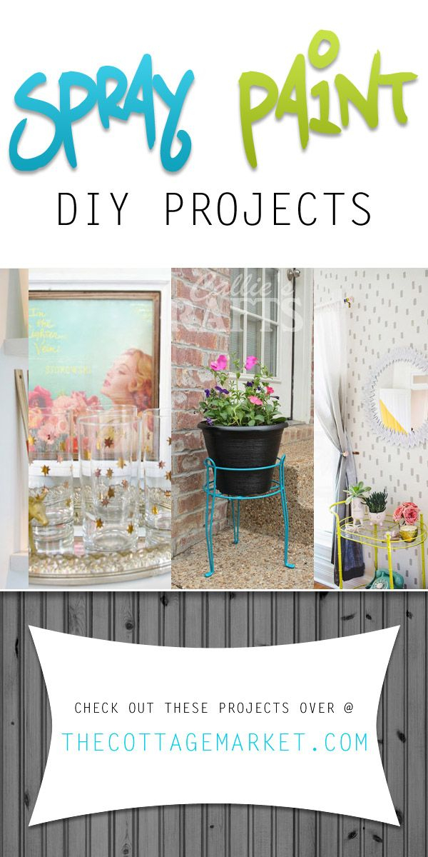 150 best images about diy outdoor projects ideas for Creative spray paint ideas