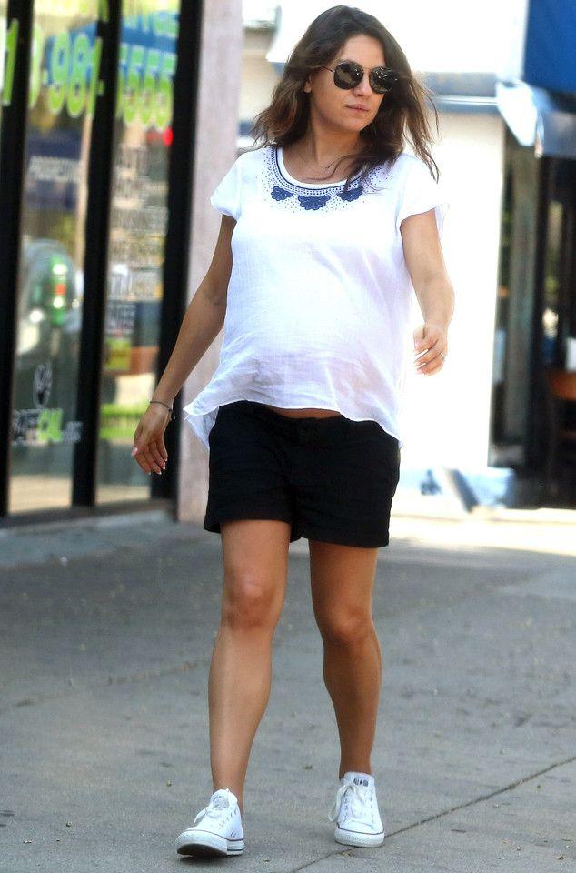 Mila Kunis' Baby Bump Is Getting So Big�See the Cute Pic!  Mila Kunis