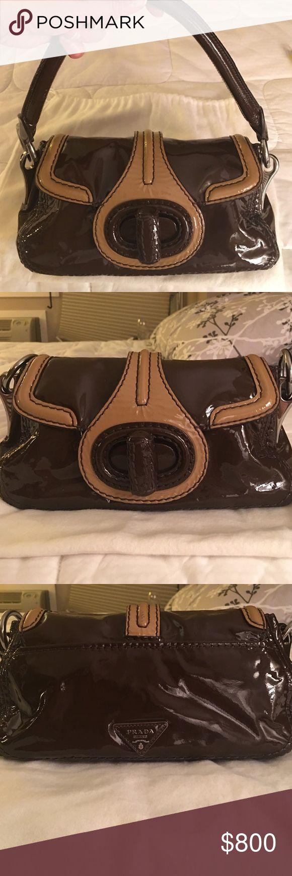 Selling this Prada handbag on Poshmark! My username is: michellelin1. #shopmycloset #poshmark #fashion #shopping #style #forsale #Prada #Handbags