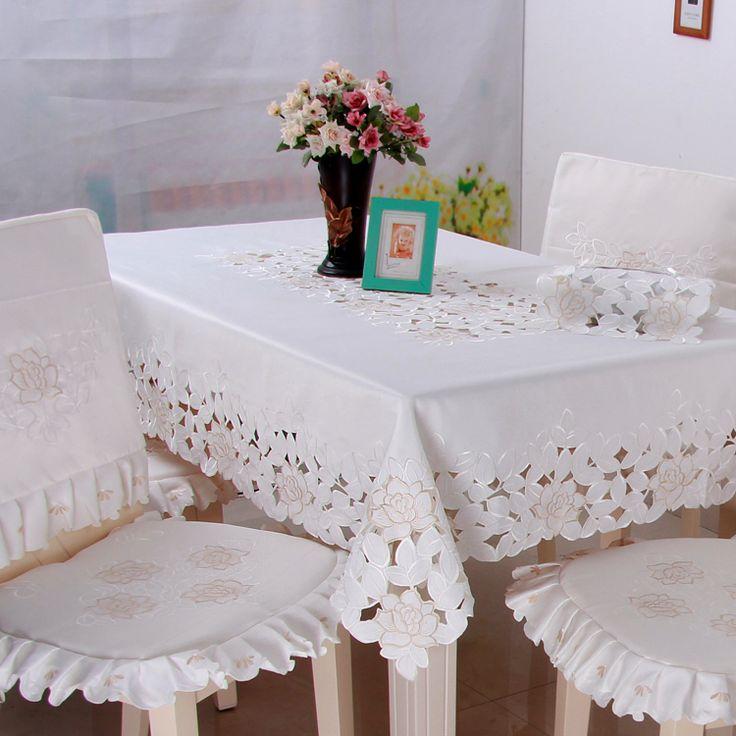 kalite moda işlemeli rustik yemek masa örtüsü kumaş masa örtüsü masa örtüsü sandalye örtüsü yastık(China (Mainland))