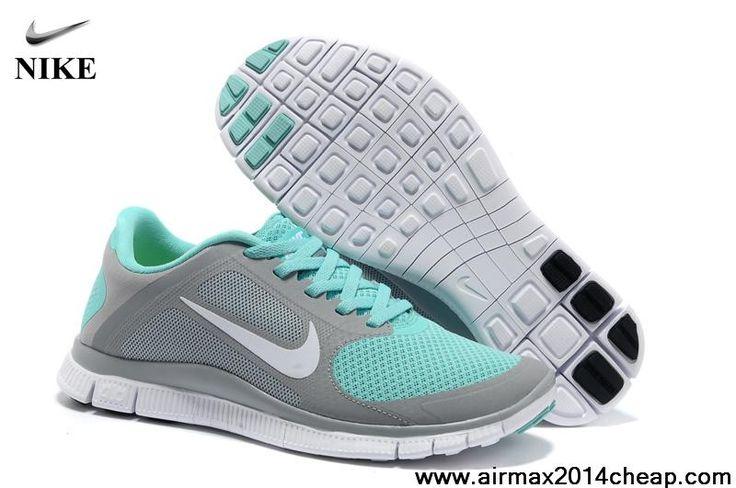 Nike Free Powerlines II Jade Dark Gray Men Shoes  S4640