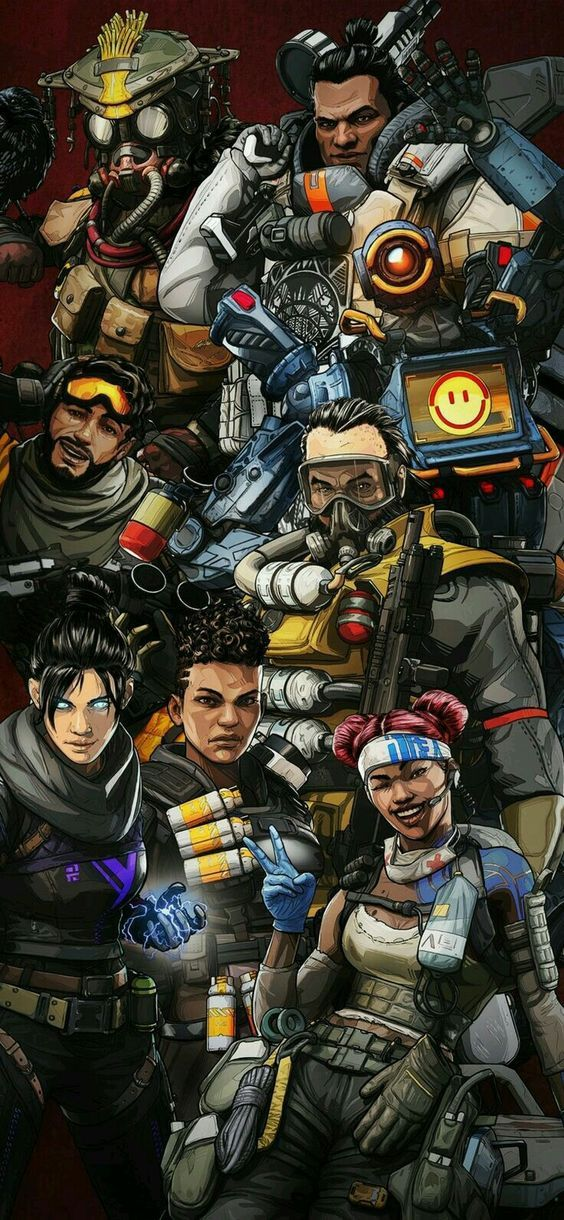 Pin de Jane SC en Apex Legends en 2019 Fondos para
