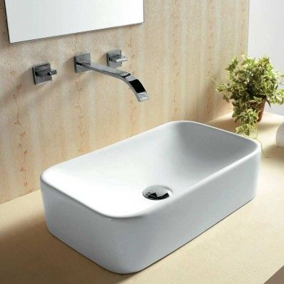 Statim Basin white Counter 48x28cm Top Basin BY PRODIGG   Prodigg Counter Top Basins