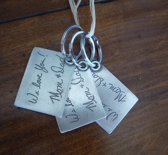 Best custom writing jewelry on etsy
