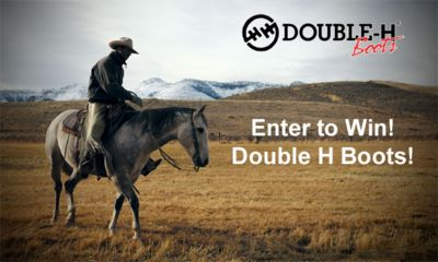 Win your choice of any Double H boots we sell.  You may enter once each day. (up to $250 in value) We Love our Fans!