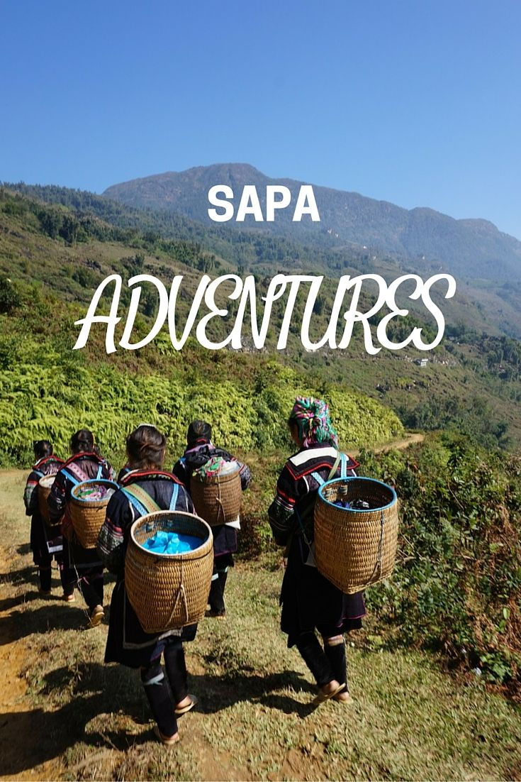 Hiking adventure in #sapa Great adventure, marvelous views!