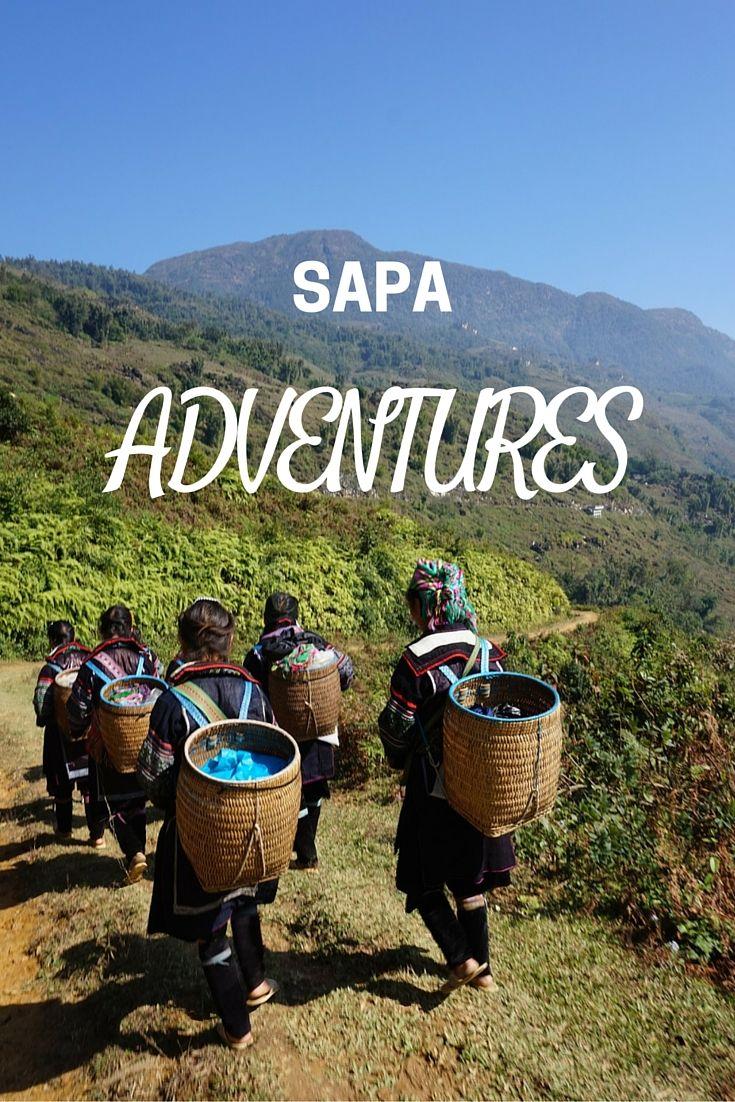 Hiking adventure in #sapa Great adventure, marvelous views!