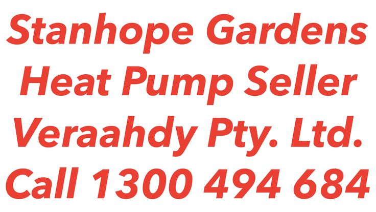 Heat Pumps Stanhope Gardens