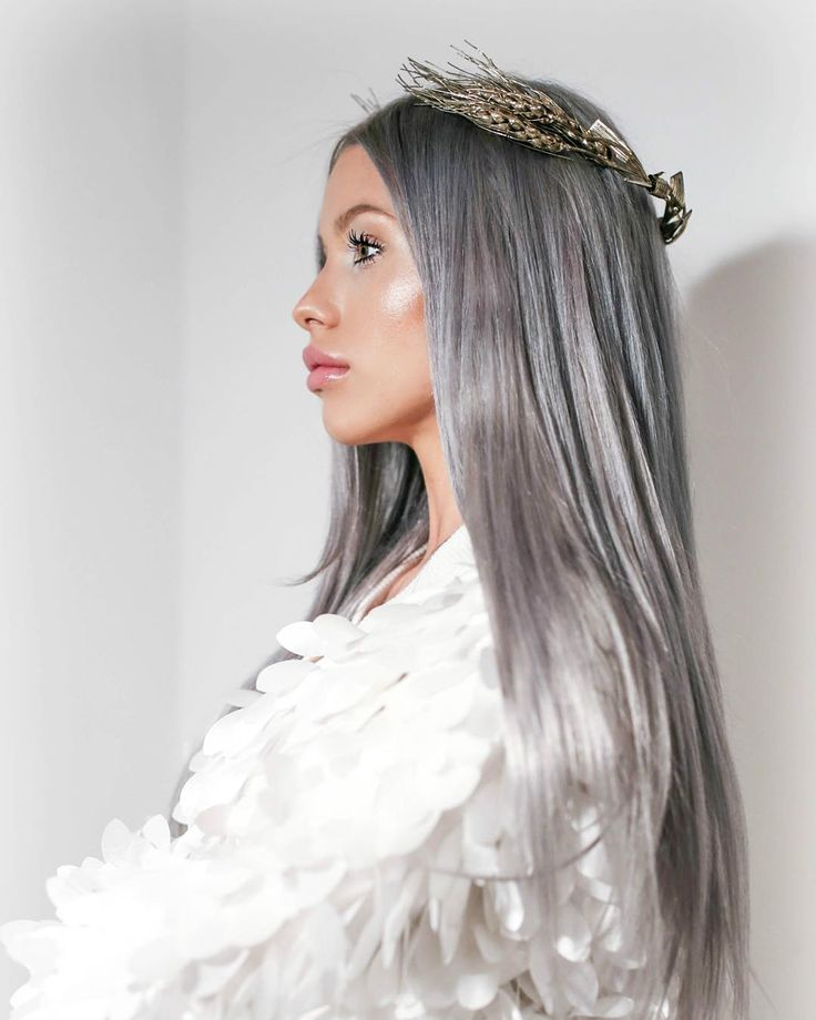 #fierce Shop our #GreyHair extensions from @divisima.ro #Divisima by grebenisancarmen