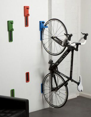 Cycloc's Endo is an Affordable and Chic Wall Mount for Bikes #design trendhunter.com