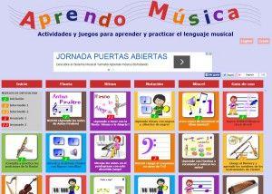 Blogs de música para el aula de Primaria