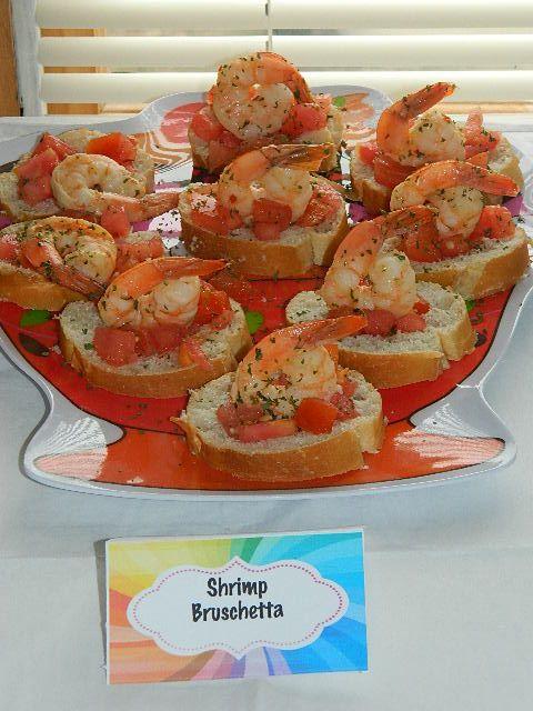 Bruschetta and Shrimp on Pinterest