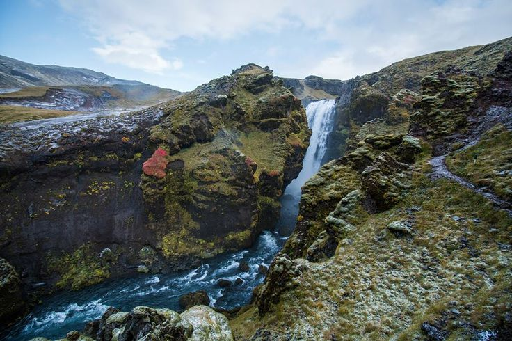 this is Skóga river, the end of it is Skógafoss waterfall photo by Baráth Mix Levente https://www.facebook.com/mixtremevideos/?fref=photo