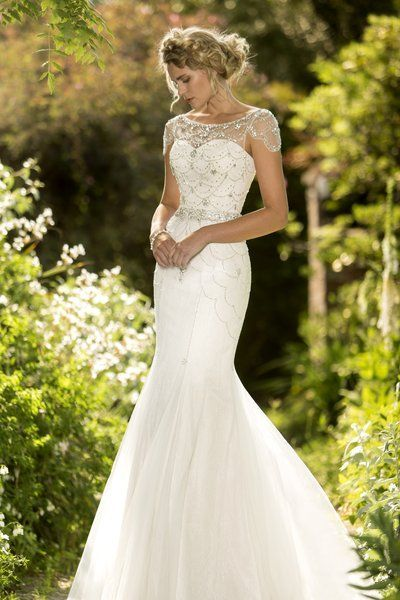 Amy - Love this minus the fishtail for Amy -Contemporary Wedding Dresses and Vintage Inspired Bridal Gowns   W185   True Bride