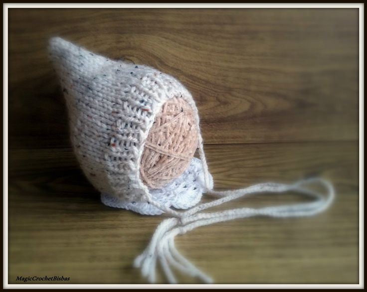 Hand Knitted Hat Beanie Bonnet Pixie photo prop baby photography costume   eBay
