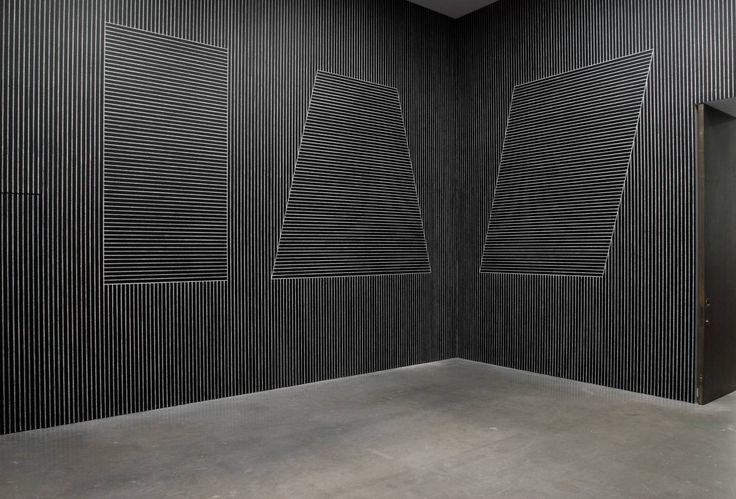 Sol LeWitt 'Six Geometric Figures (+ Two) (Wall Drawings)', 1980–1 © The estate of Sol LeWitt