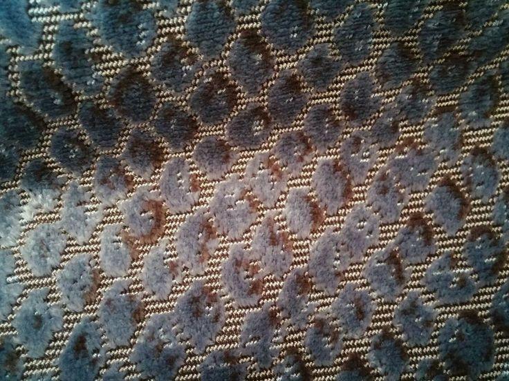 Robert Allen Silk Velvet Ananta Upholstery Sapphire Fabric