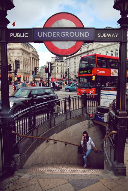 London, Piccadilly Circus. I lost a gold bracelet near here when I was with my boyfriend at the time (we were in touch until he passed away in a motorcycle crash a few years back)  that had an inscription from my 1986 summer in Spain with Spanish friends.