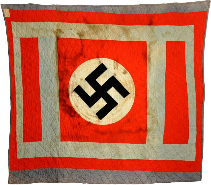 The Quilt Index Ww2 Era Swastika Quilt From Berlin