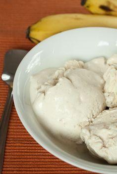 Bananen-Joghurt-Eis (ohne Eismaschine, ohne Ei)