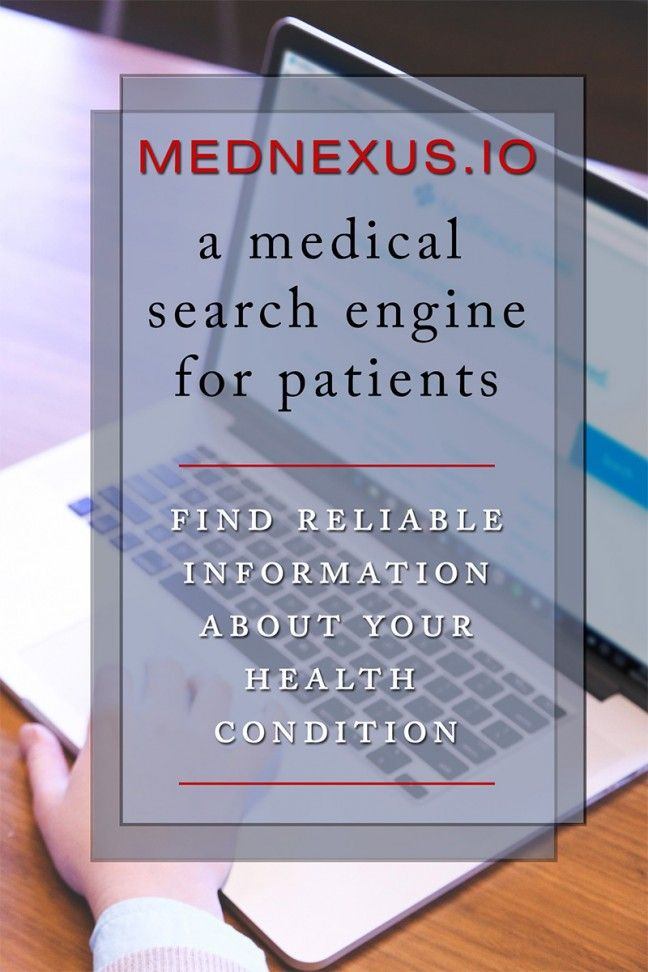 MedNexus.io: A medical search engine for patients