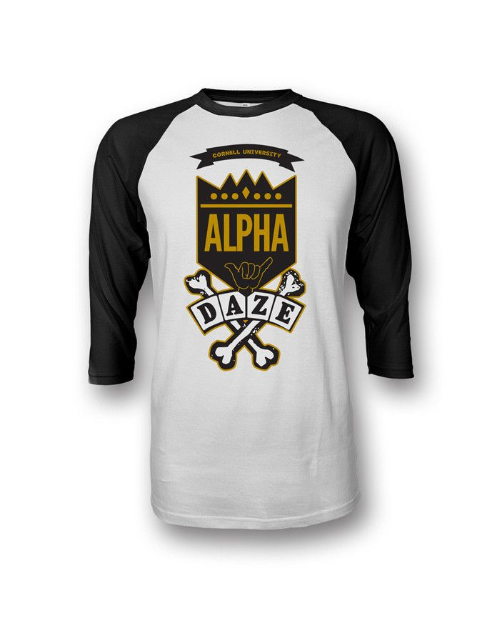 The Alpha School Daze Raglan is a premium piece from our inspired school daze collection. Our school daze collection represents the roots of our organizations a