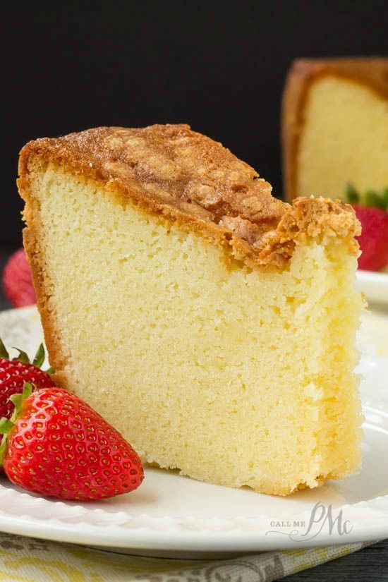 Mile High Pound Cake Recipe Is Dense Moist And Over The