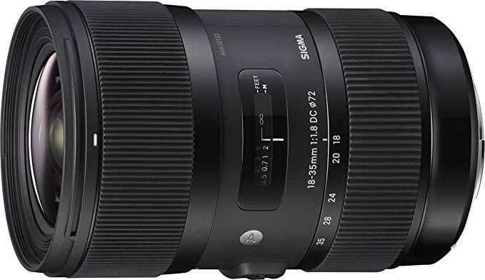 Sigma 18 35mm F1 8 Art Dc Hsm Lens For Canon Best Camera Lenses Zoom Lens Canon Lens