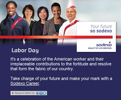 Sodexo USA Careers Blog: Take Charge of Your Future this Labor Day!