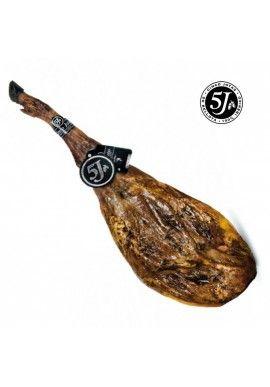 JAMÓN IBÉRICO BELLOTA JABUGO 5 JOTAS. Los mejores jamones gourmet en http://fontanalsdelicatessen.com/es/31-jamones-y-paletas #jamonesgourmet #jamonesdelicatessen #jamonesibericos