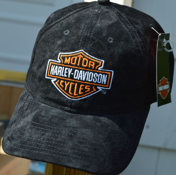 Harley Davidson Black Trucker Hat