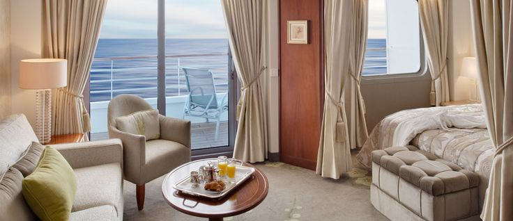 Crystal Cruises Penthouse, imagine your butler anticipating your every need. www.luxury-cruising.com