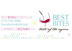 Take the opportunity to taste some of Ontario's finest wines and microbrews at the upcoming #bestbites! See our website for info and tickets.
