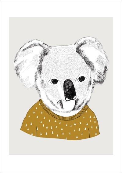 Framed Koala Print, $37