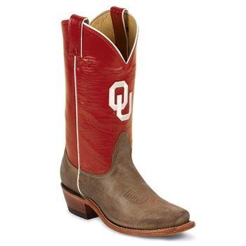 Nocona Women's University of Oklahoma College Boots