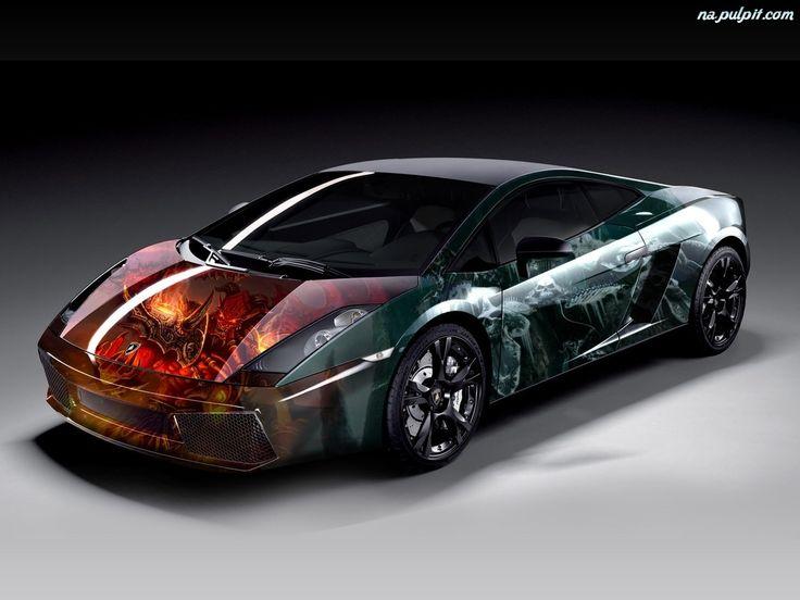 AUTOMOTIVE CARS: lamborghini airbrush | lamborghini auto | lamborghini replica kits