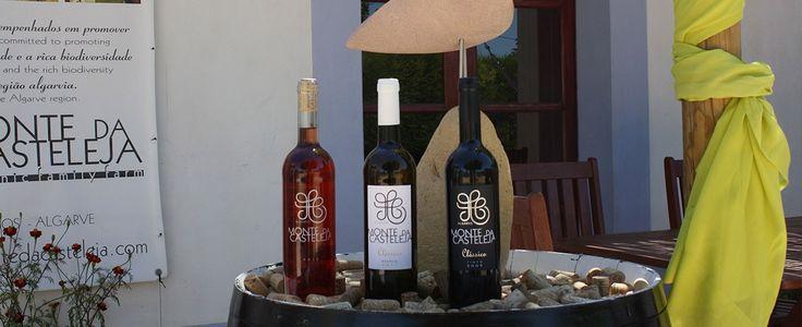 Monte da Casteleja - White, Rose and Red Organic Wines of the Algarve, Portugal