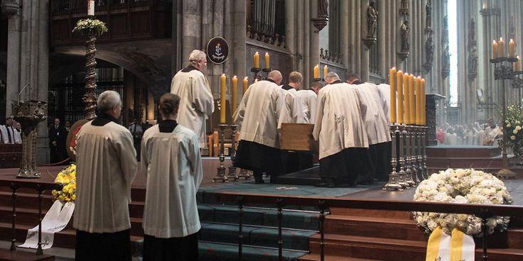 Begräbnis von Kardinal Meissner