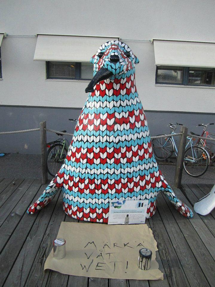 Hej hylje -project, 2011, Turku, Finland