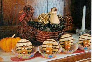 Gobble Gobble Edible Thanksgiving Turkeys